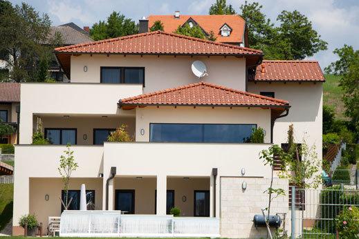 Referenzfoto eines Einfamilienhaus in Wien Umgebung